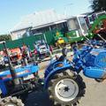 Японский мини трактор iseki TX1410D