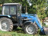 Трактор мтз-82. 1 2012г/в с погрузчиком и щёткой